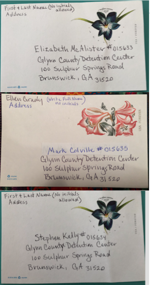 Example postcards – please read instructions for sending mail to make sure it is not rejected.