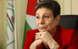 a Palestinian leader, legislator, activist, and scholar who served as a member of the Leadership Committee and as an official spokesperson of the Palestinian delegation to the Middle East peace process, beginning with the Madrid Peace Conference of 1991. In 1996, Ashrawi was appointed as the Palestinian Authority Minister of Higher Education and Research. Prior to that, she was Dean of the Faculty of Arts at Birzeit University and head of its Legal Aid Committee since the mid-1970s