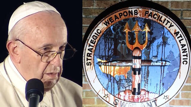 Pope Francis Calls Nuclear Weapons Immoral as Catholic Activists Face Jail For U.S. Nuke Base Action